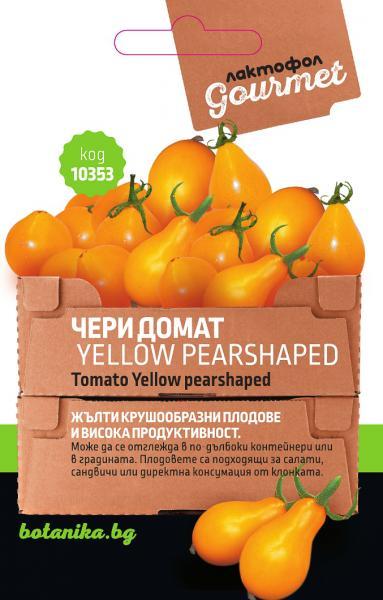 Чери домат Yellow pearshaped 0.5гр.