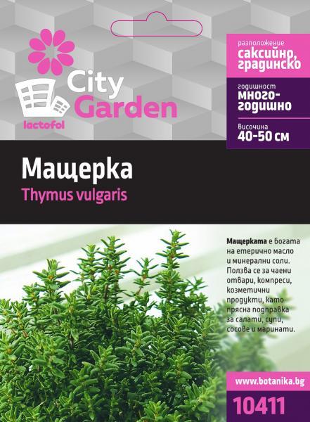 City garden семена мащерка