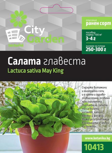 City garden семена салата главеста