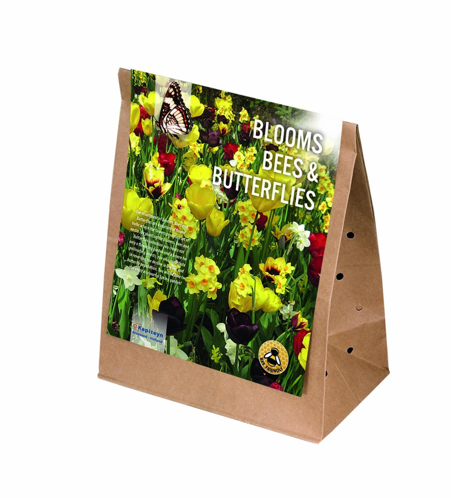 Пакет медоносни луковични цветя ЖЪЛТИ И КАФЯВИ ЦВЕТОВЕ 25бр.