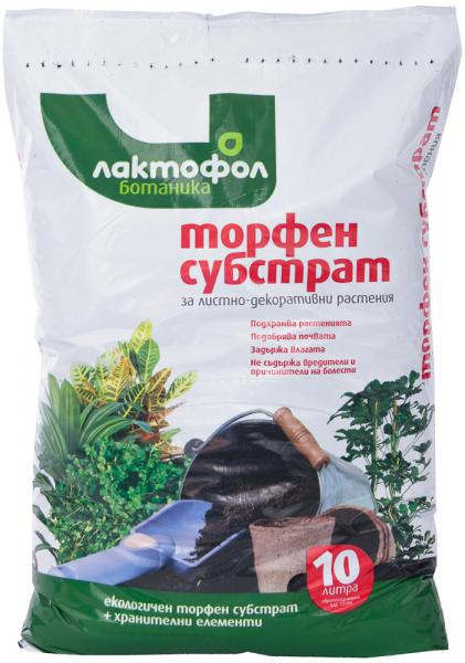 Торфена смес за листно-декоративни растения 10 л5544