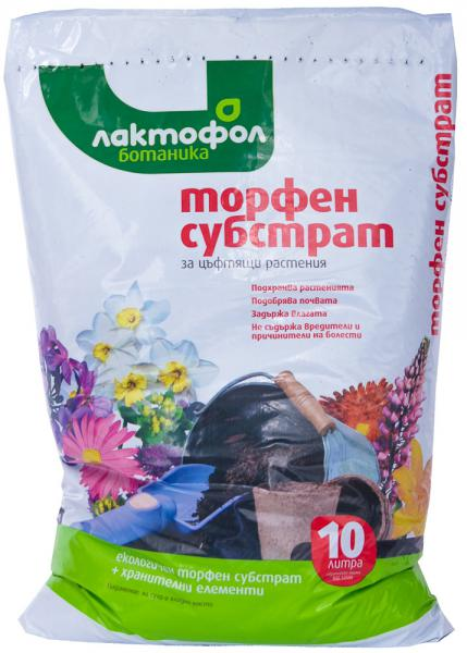 Торфена смес за цъфтящи растения 10 л
