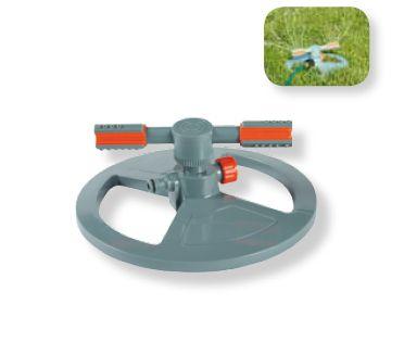разпръсквач с две рамена, голяма кръгла основа