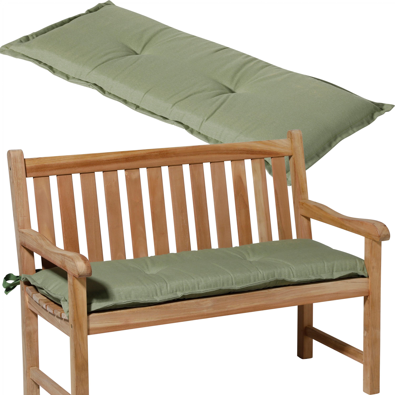 Възглавница за пейка 120x48, цвят салвия