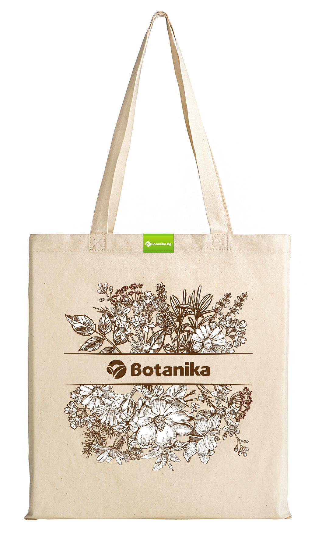 Текстилна торбичка БОТАНИКА