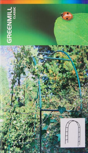Градинска пергола за увивни растения