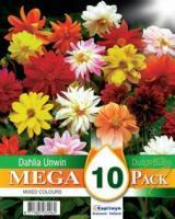 Мега пакет Далия Unwin Mix 10 бр.